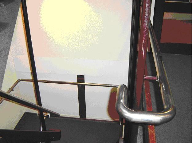 Foto van doorlopende trapleuning